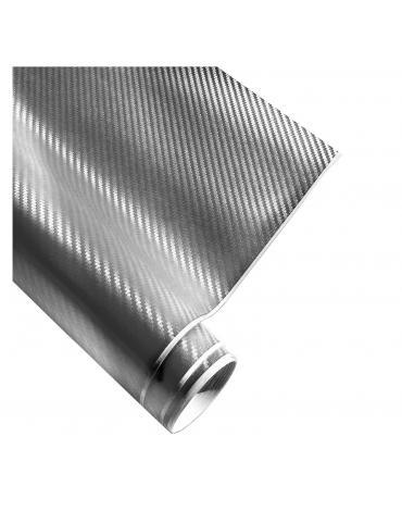 4CARS Fólie 3D CARBON Stříbrná 1.52x30m