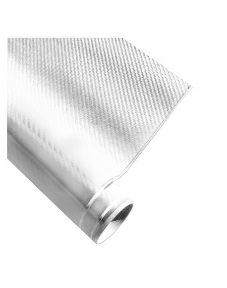 4CARS Fólie 3D CARBON Bílá 1.52x30m