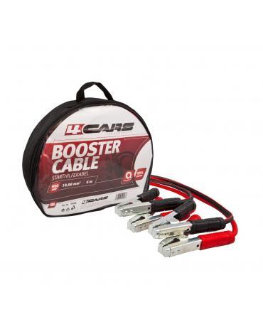 4CARS Startovací kabely 900amp, 10.0mm², 6m