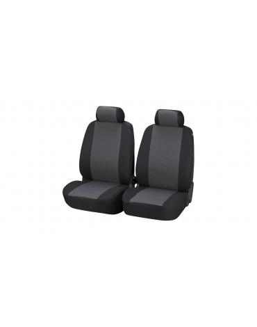 Walser Car Seat Covers Pineto grey for 2 Front Seats