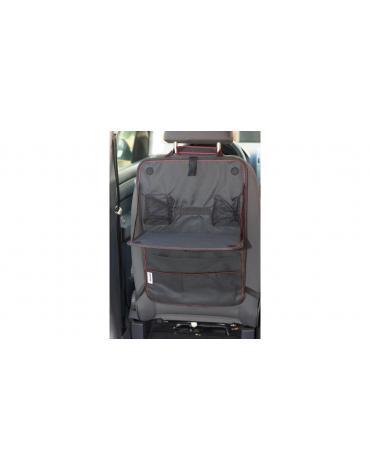 4CARS Závěsný organizér zadního sedadla s vyklápěcím stolkem 60x38 cm