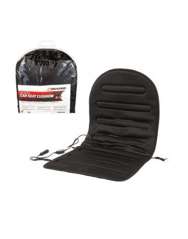 4CARS Autopotah sedadla vyhřívaný 12V s termostatem