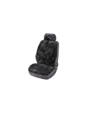 Walser Lambskin Car Seat cover Iva black with ZIPP IT System